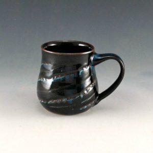 Black Gloss Glaze Mug