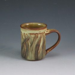 Slipped and Incised Mug