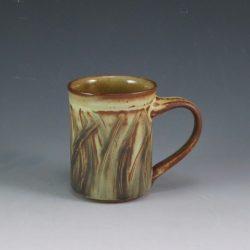 Slipped and Incised Mug