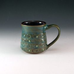 Textured Mug with Dots
