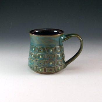 Textured Mug with Dots