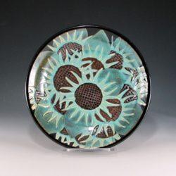 Sunflower Bowl Serving Piece