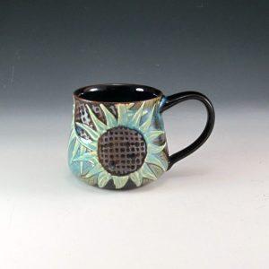 Sunflower Mug Blue