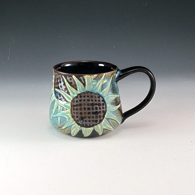 Sunflower Mug Blue