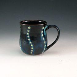 Textured Dot Wave Mug