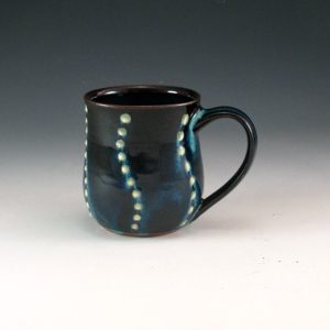 Textured Dot Wave Mug