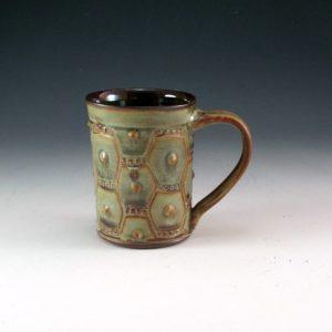 Textured Slipped Mug